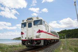 リアス式海岸と鉄道